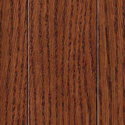 Take Home Sample - Wire Brushed Barstow Oak 1/2 in. Thick Engineered Hardwood Flooring - 5 in. x 7 in.