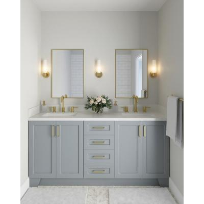 Taylor 72 in. W Vanity Cabinet Only in Grey