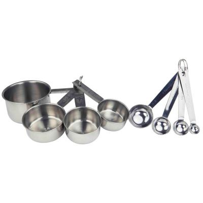 8-Piece Stainless Steel Measuring Spoons