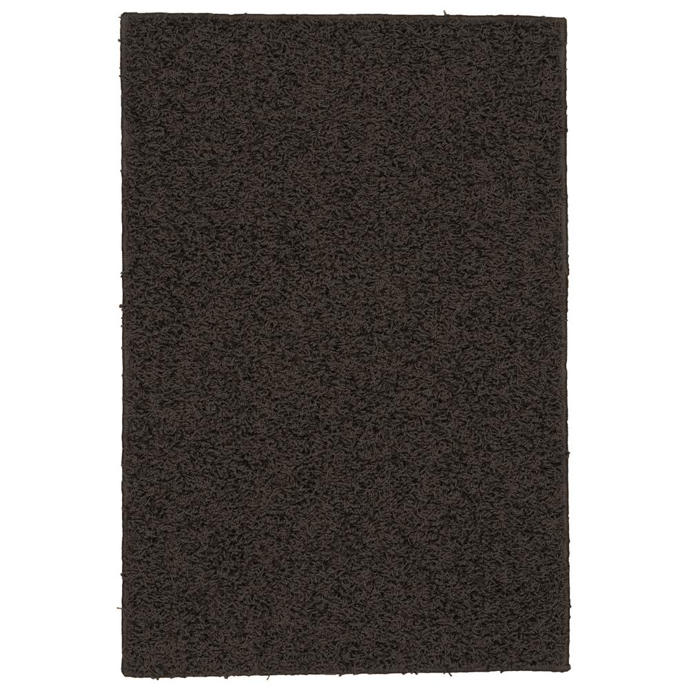 Garland Rug Southpointe Shag Chocolate 3 ft