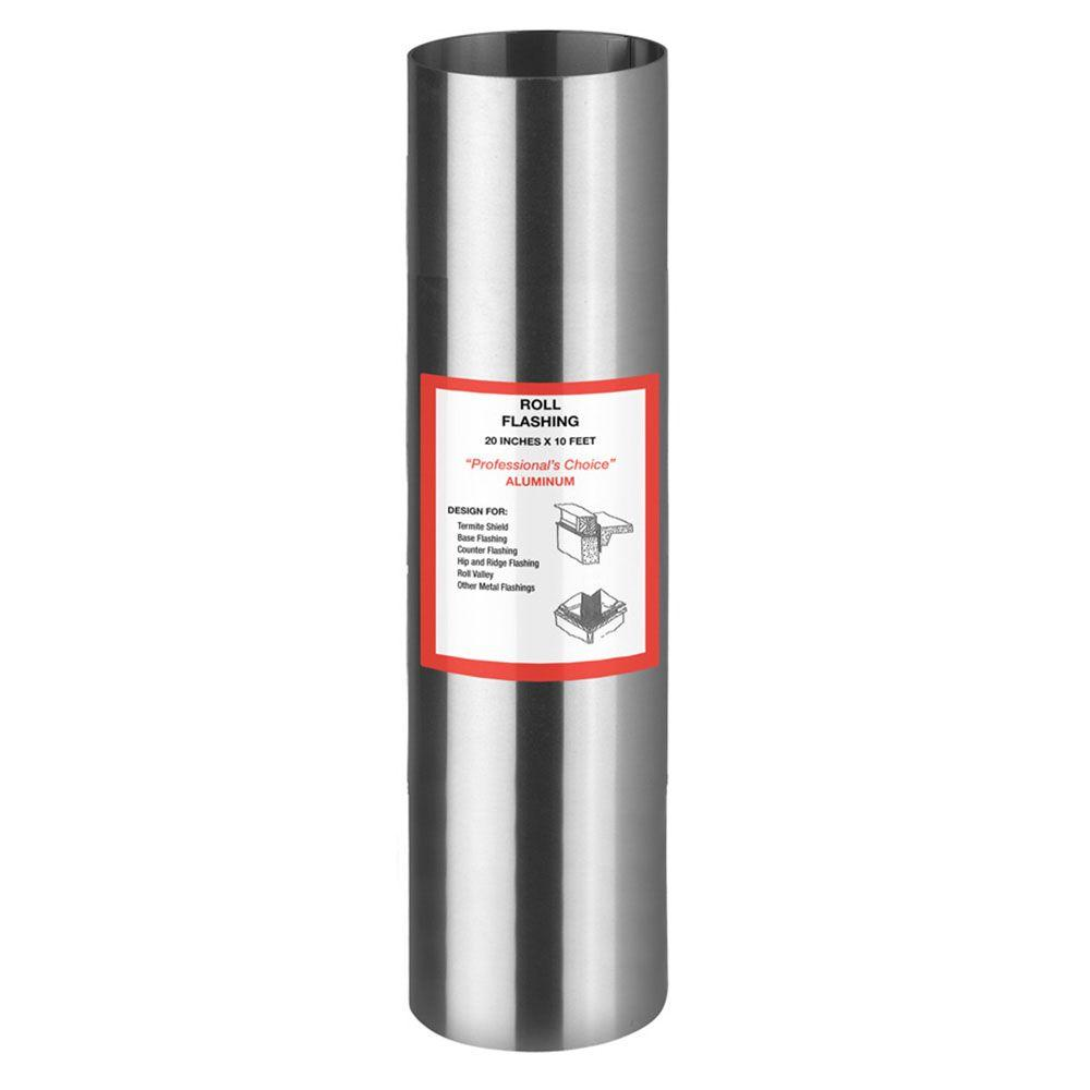 20 in. x 10 ft. Roll Valley Aluminum Flashing