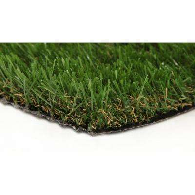 Jade 50 15 ft. x 25 ft. Artificial Synthetic Lawn Turf Grass Carpet for Outdoor Landscape