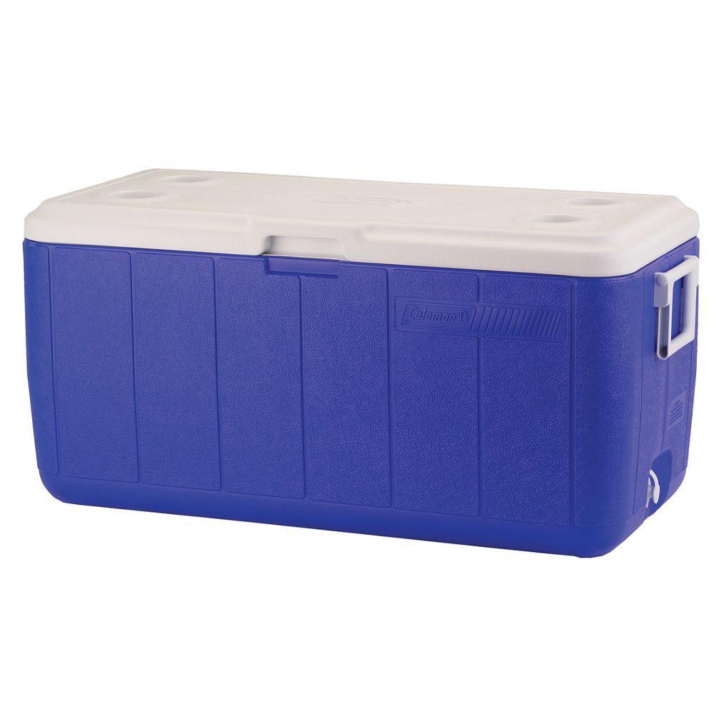 Coleman 100 Qt. Cooler, Blue