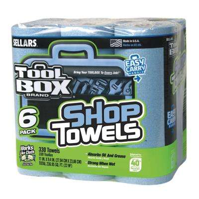 55-Count Shop Towel Roll (6-Pack)