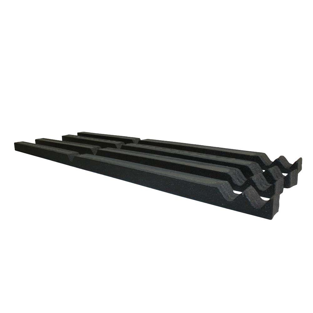 2 ft. Outside Closure Strip Foam 5-Volt Roof Accessory in Black