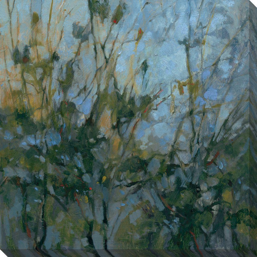 NEP Art 40 in. x 40 in. Rhapsody III Oversized Canvas Gallery Wrap