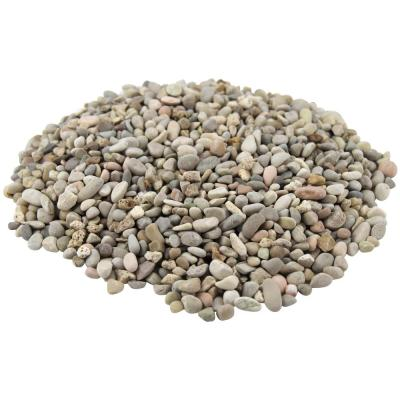 Margo Garden Products 21.6 cu. ft., 0.4 cu. ft. 3/8 in. Extra-Small Cream Washed Gravel (54-Bags/Covers)