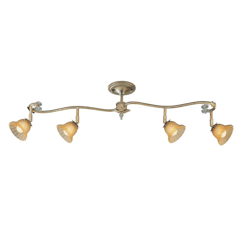 Eurofase Allure Collection 4-Light Amber Track Lighting