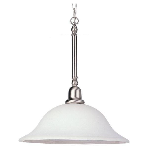 Sussex 1-Light Brushed Nickel Pendant