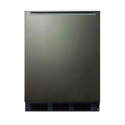 5.1 cu. ft. Mini Refrigerator in Black Stainless Steel