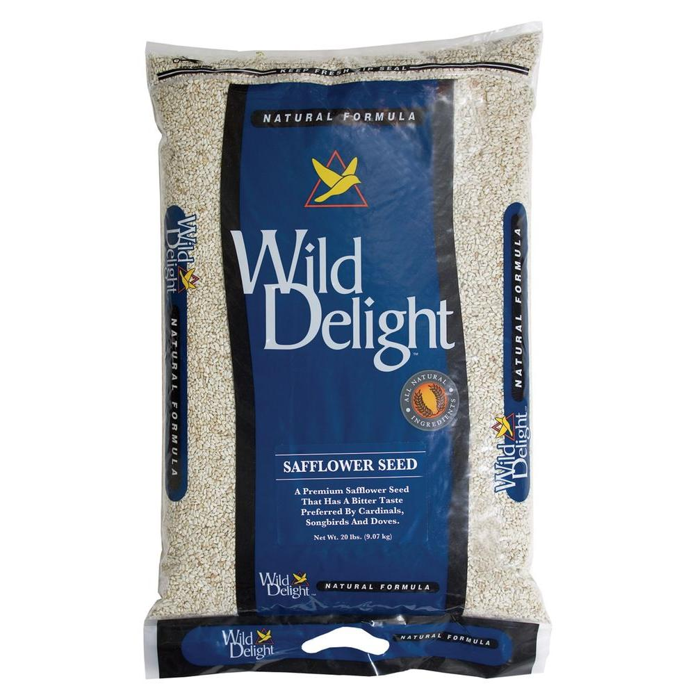 Wild Delight 20 lb. Safflower Seed Bag
