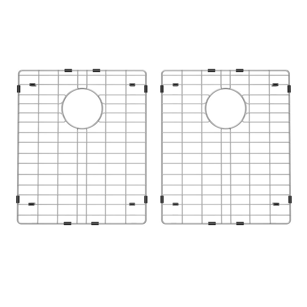 Exclusive Heritage 14 in. x 17 in. Stainless Steel Kitchen Sink Bottom Grid