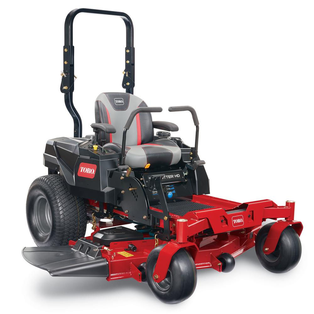 Toro TimeCutter HD Fab 54 in. 24.5 HP V-Twin Gas Riding Zero Turn Mower with Smart Speed with Roll-Over Protection Option