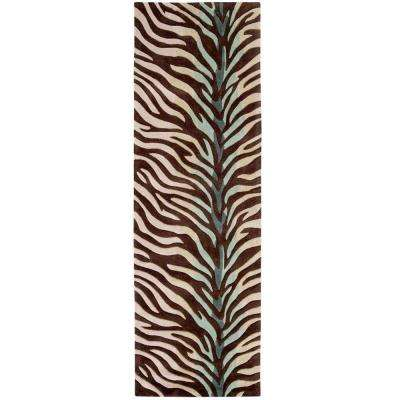 Rustic Animal Print 3 X 8 Area Rugs Rugs The Home Depot