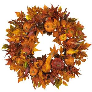 28in. Harvest Wreath