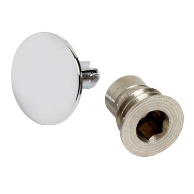 Handle Screw and Index Button, Polished Chrome