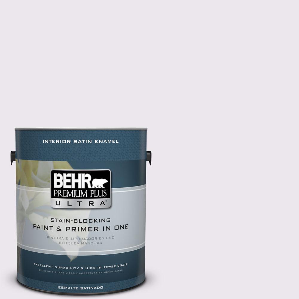 BEHR Premium Plus Ultra 1-gal. #PPL-22 Dried Lavender Satin Enamel Interior Paint