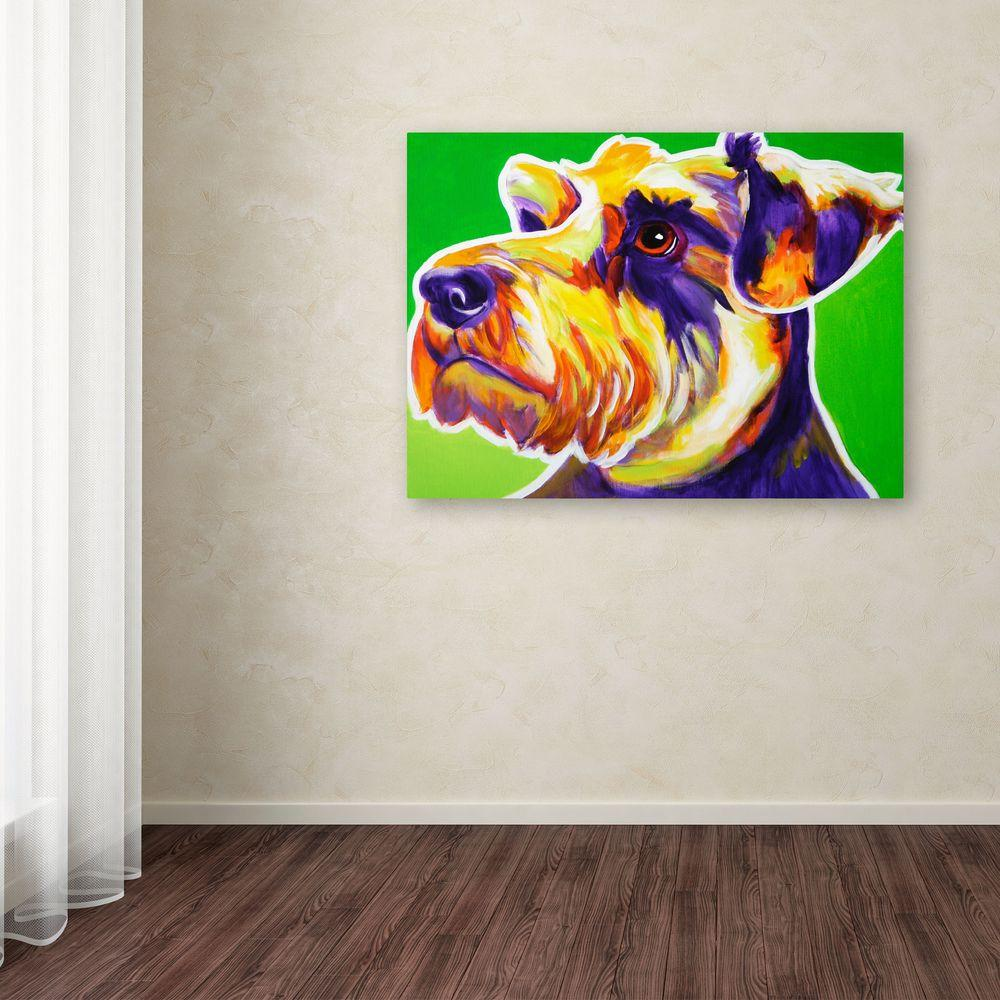 """35 in. x 47 in. """"Elroy"""" by DawgArt Printed Canvas Wall"""