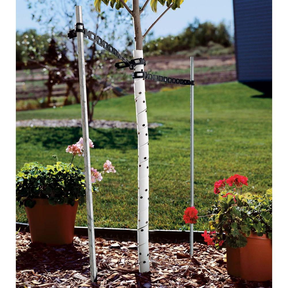 24 in  Spiral Tree Guard with Holes (Pack of 2)