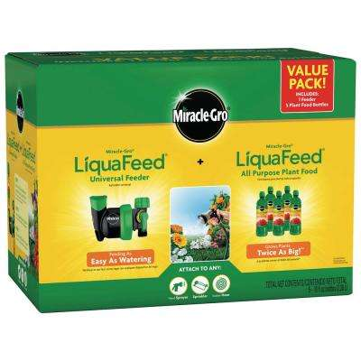 Miracle Gro LiquaFeed Universal Feeder and Miracle Gro LiquaFeed All-Purpose Plant Food