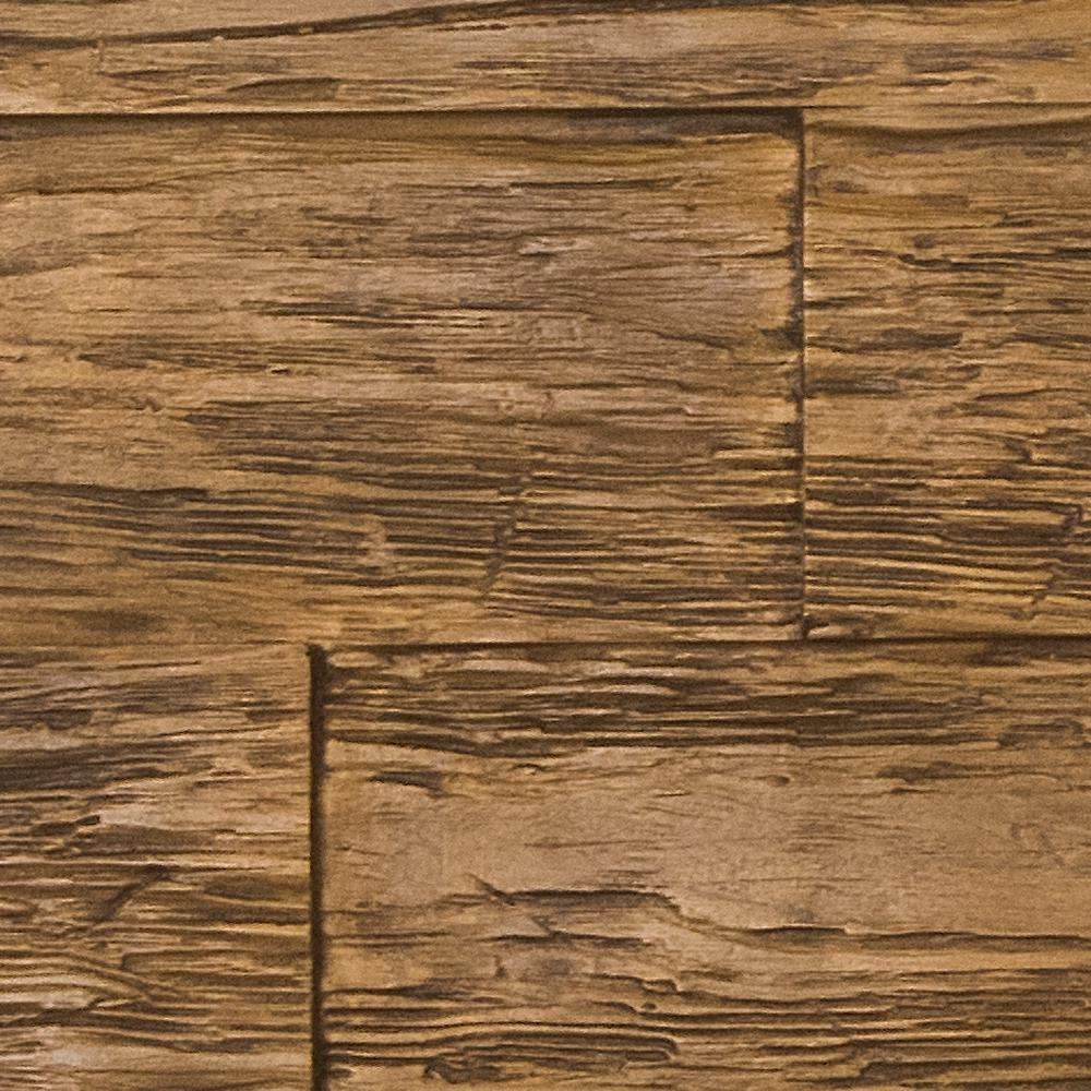 Superior Building Supplies Superior Time Weathered 10 in. x 10 in. Faux Rustic Panel Siding Sample Coffee Bean This is a sample of the Time Weathered Rustic Faux Wood Panel. The sample is a cut out of the panel finished in the Coffee Bean color. The product size is approximate 10 in. x 10 in. Sample size may vary slightly.