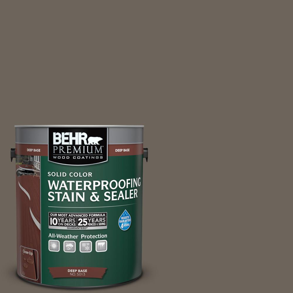 1 gal. #N360-6 Patio Stone Solid Color Waterproofing Exterior Wood Stain