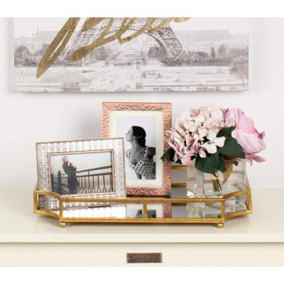 Ciel Gold Decorative Tray