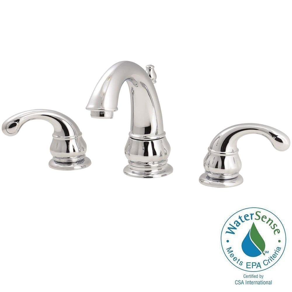 Pfister Faucets Bathroom: Pfister Treviso 8 In. Widespread 2-Handle High-Arc