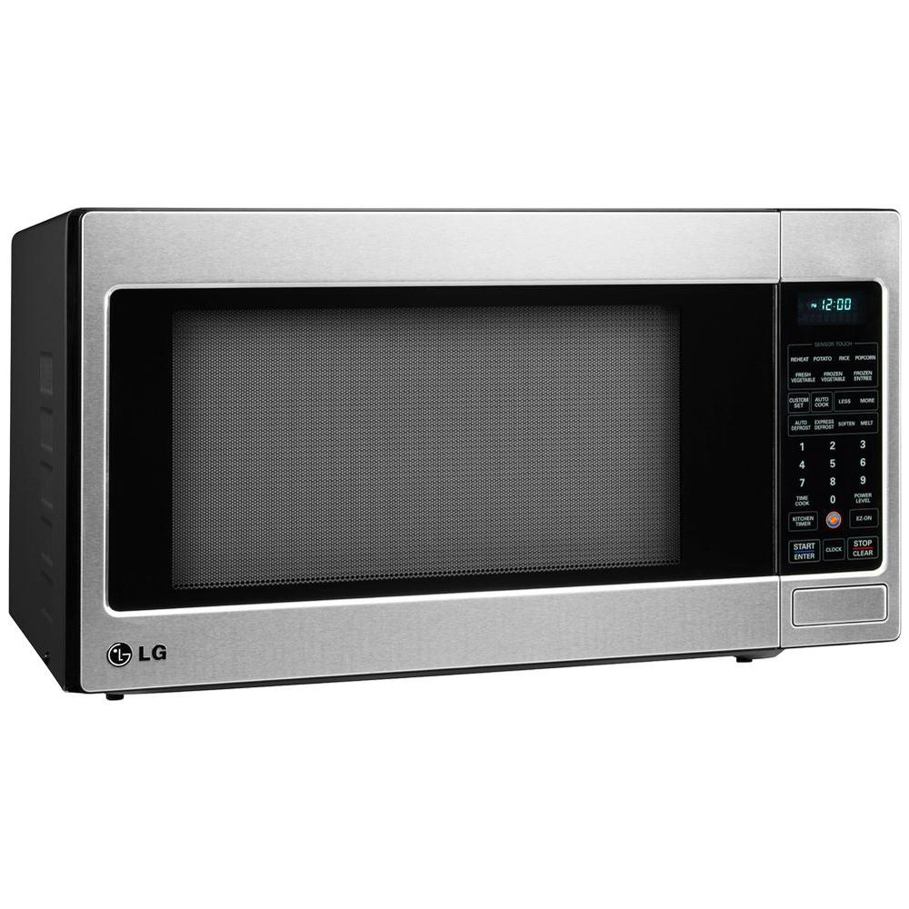 LG Electronics 2.0 cu. ft. Countertop Microwave in Stainless Steel