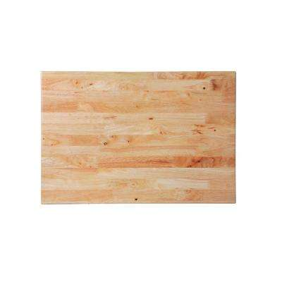 27 in. Hardwood Tool Cabinet Top for Rolling Cabinet