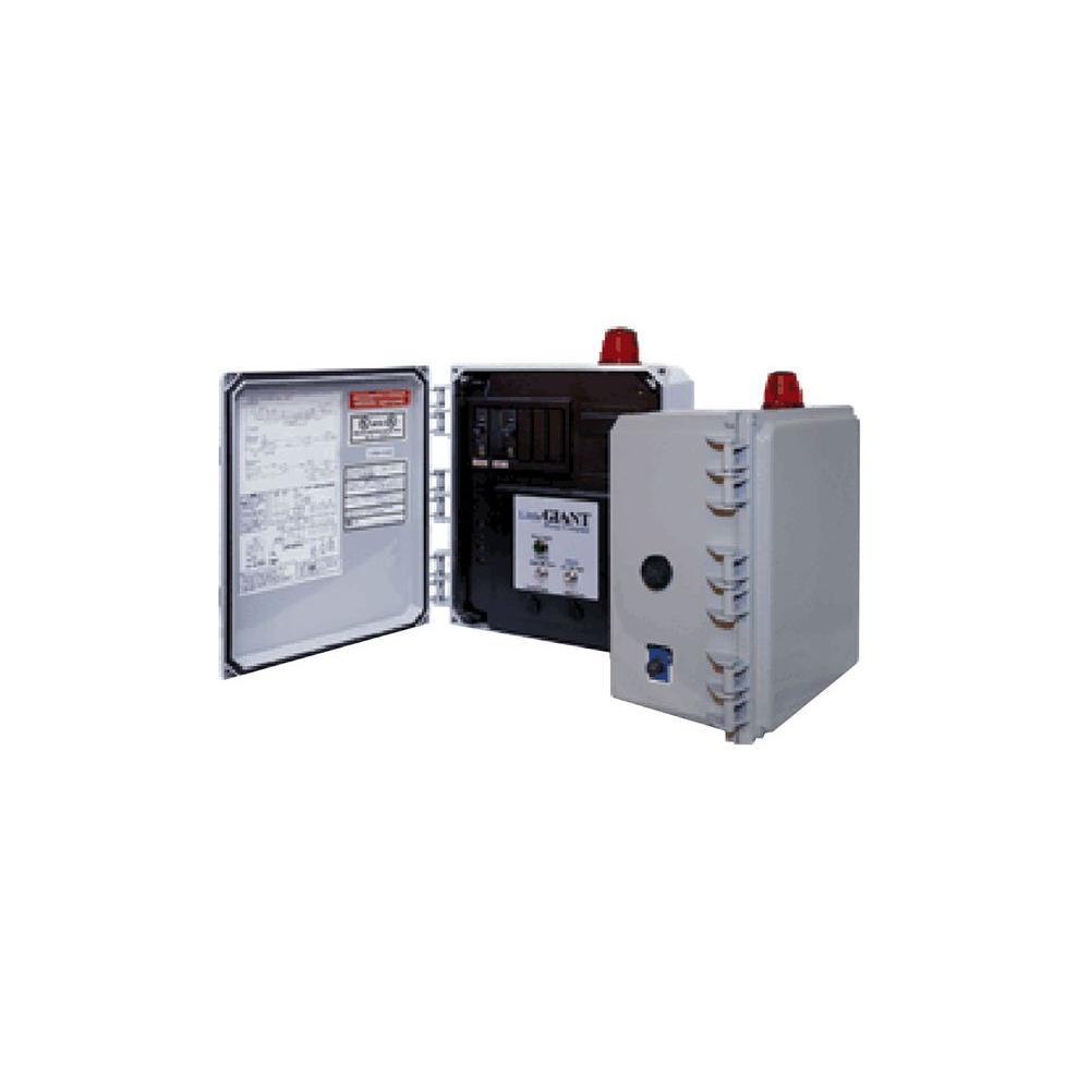Little Giant Simplex 3-Float Grinder Pump Control Panel