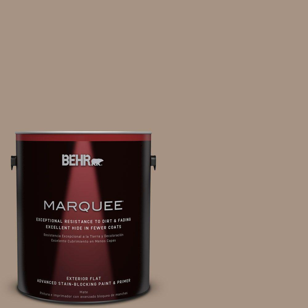 1-gal. #PPU7-5 Pure Earth Flat Exterior Paint