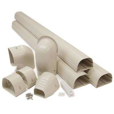"Fortress 4.5"" LDK122I 12'  Ivory Lineset Cover Kit"