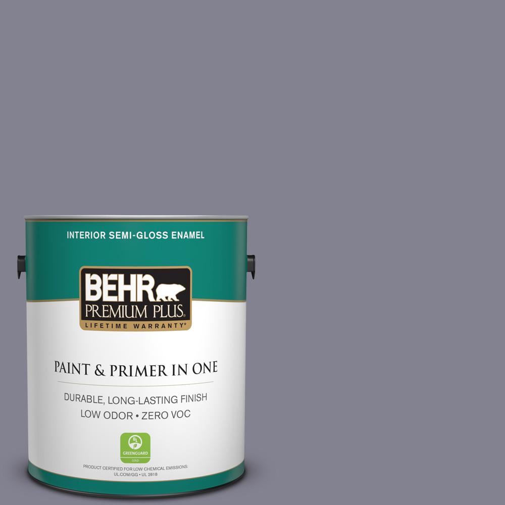 1-gal. #BNC-19 Formal Affair Semi-Gloss Enamel Interior Paint