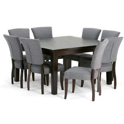 Joseph 9-Piece Slate Grey Dining Set