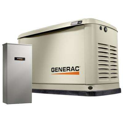 11,000-Watt Air Cooled Standby Generator with 16 Circuit 100 Amp Automatic Transfer Switch