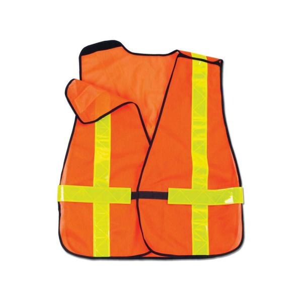 GLoWEAR Orange Hi-Vis Non-Certified X-Back Vest