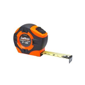 Lufkin 1 inch x 25 ft. Power Return Engineer's Tape Measure by Lufkin