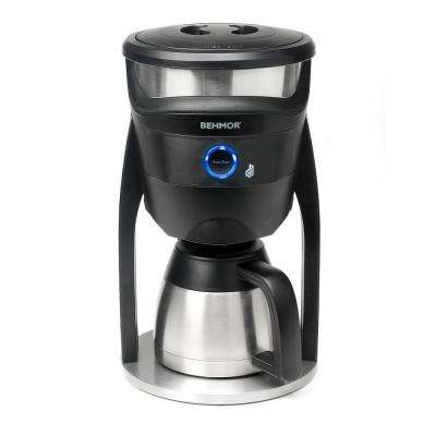 Connected 8-Cup Temperature Control Coffee Maker