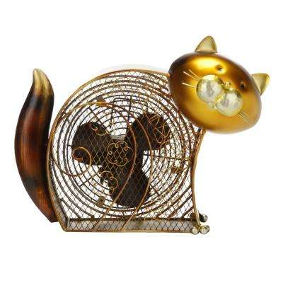7 in. Figurine Fan-Kitty