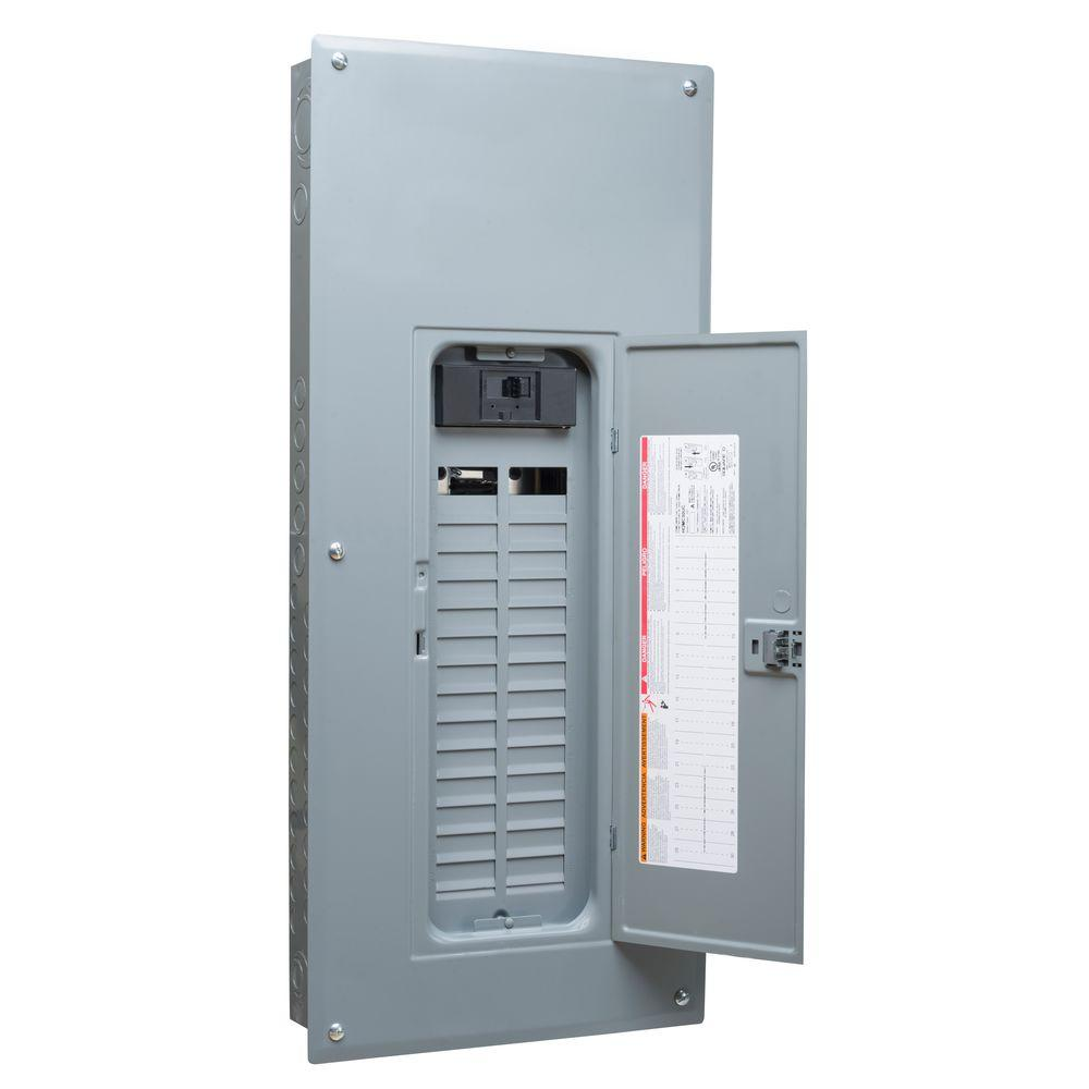 Square D QO 200 Amp 42-Space 42-Circuit Indoor Main Breaker Qwik ...