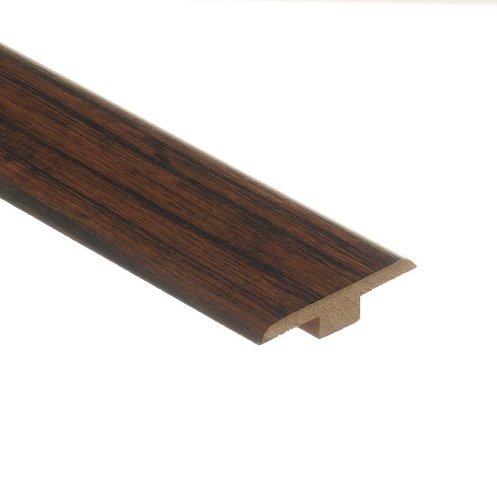 Zamma Enderbury Hickory 7/16 in  Thick x 1-3/4 in  Wide x 72 in  Length  Laminate T-Molding