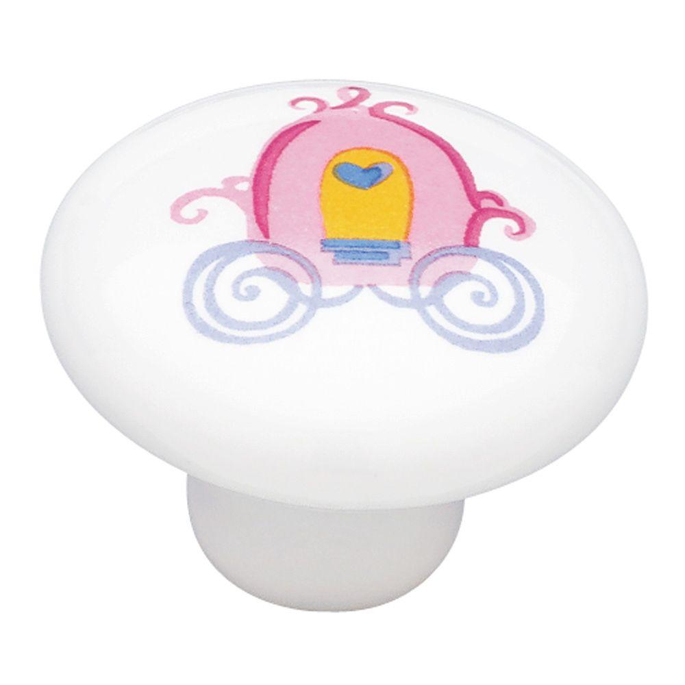 Liberty Disney 1-1/2 in. Princess Carriage Cabinet Knob-DISCONTINUED