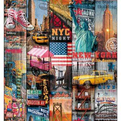 26 in. x 78 in. Manhattan Self-adhesive Vinyl Film for Furniture and Door Decoration