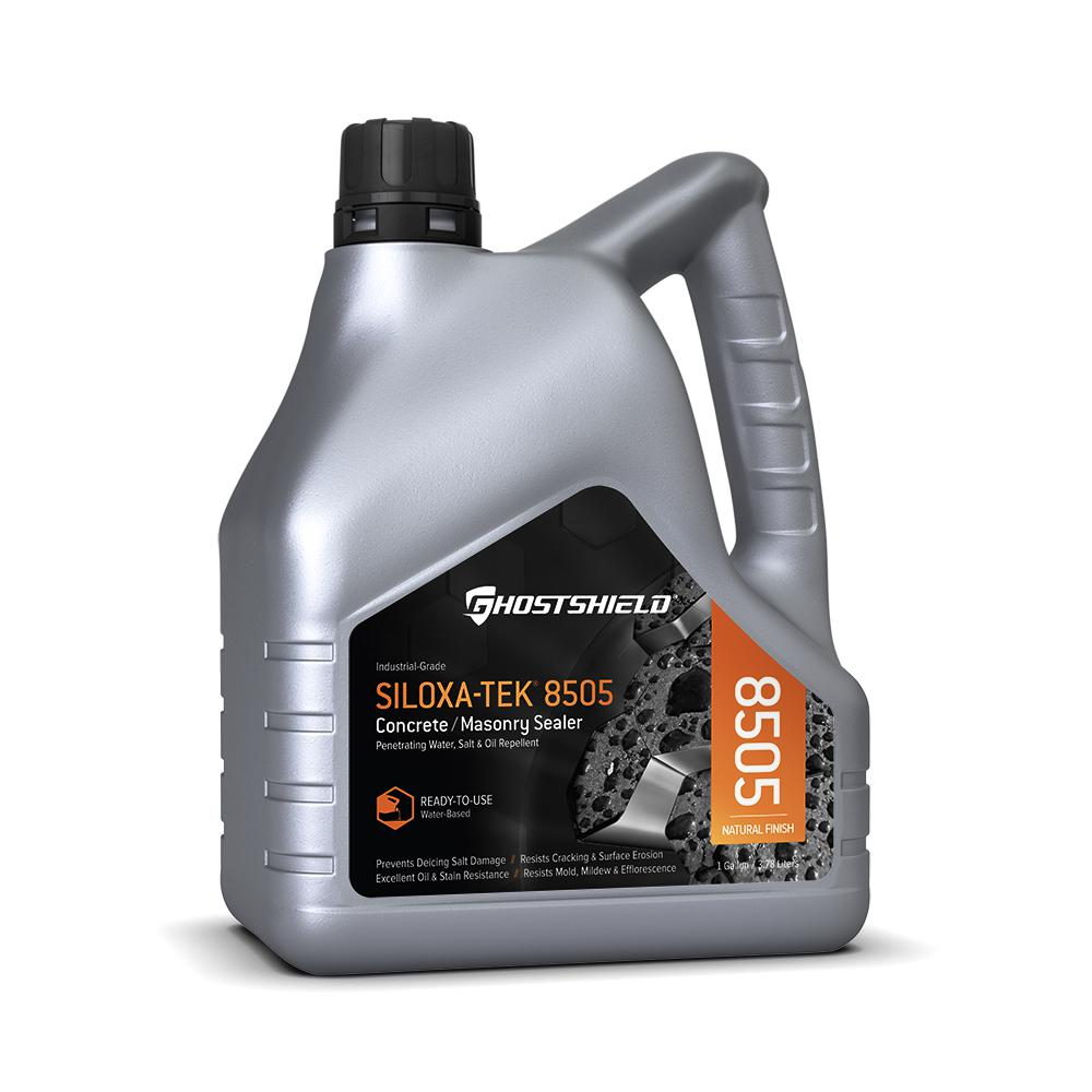 Ghostshield 1 Gal. Invisible Penetrating Concrete and Masonry Water Repellent Sealer Plus Oil Repellent