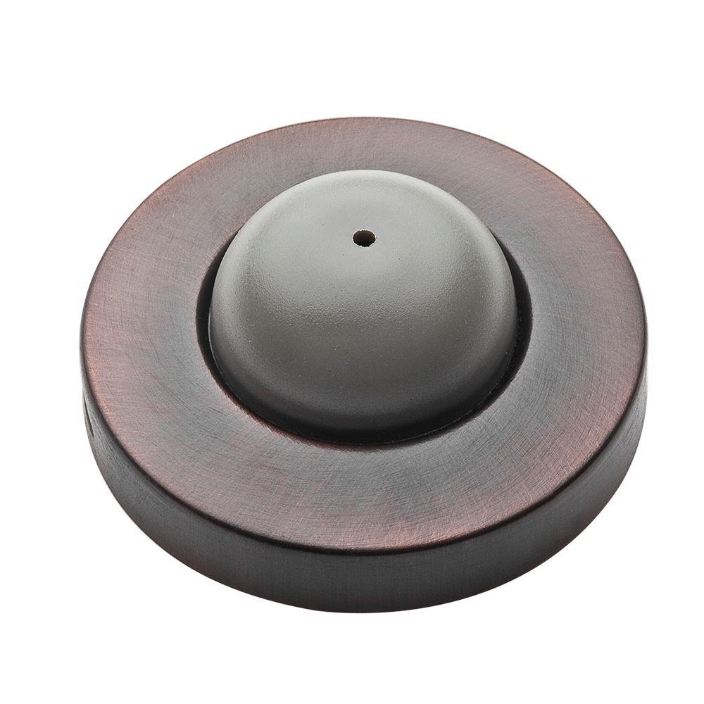Etonnant Venetian Bronze Convex Wall Mounted Door Stop