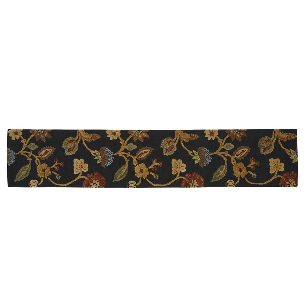 Portico Ebony 2 ft. 9 in. x 14 ft. Runner