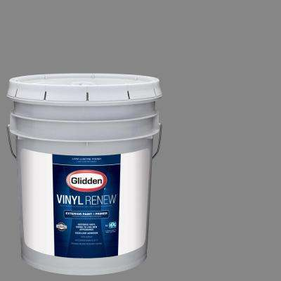 5 gal. #HDGCN64U Seal Grey Low-Lustre Exterior Paint with Primer