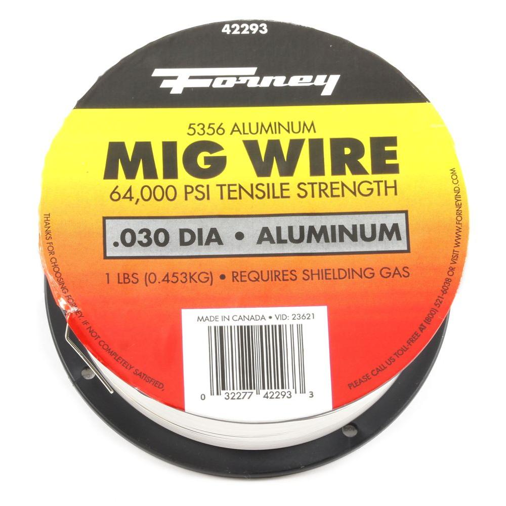 """20-1 lb Spool .035/"""" 5356 Aluminum Mig Weld Welding Wire CANADIAN MADE ! .035"""