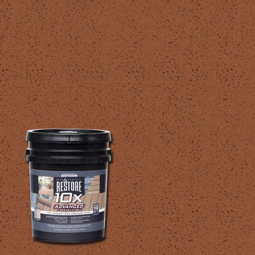 4 gal. 10X Advanced California Rustic Deck and Concrete Resurfacer